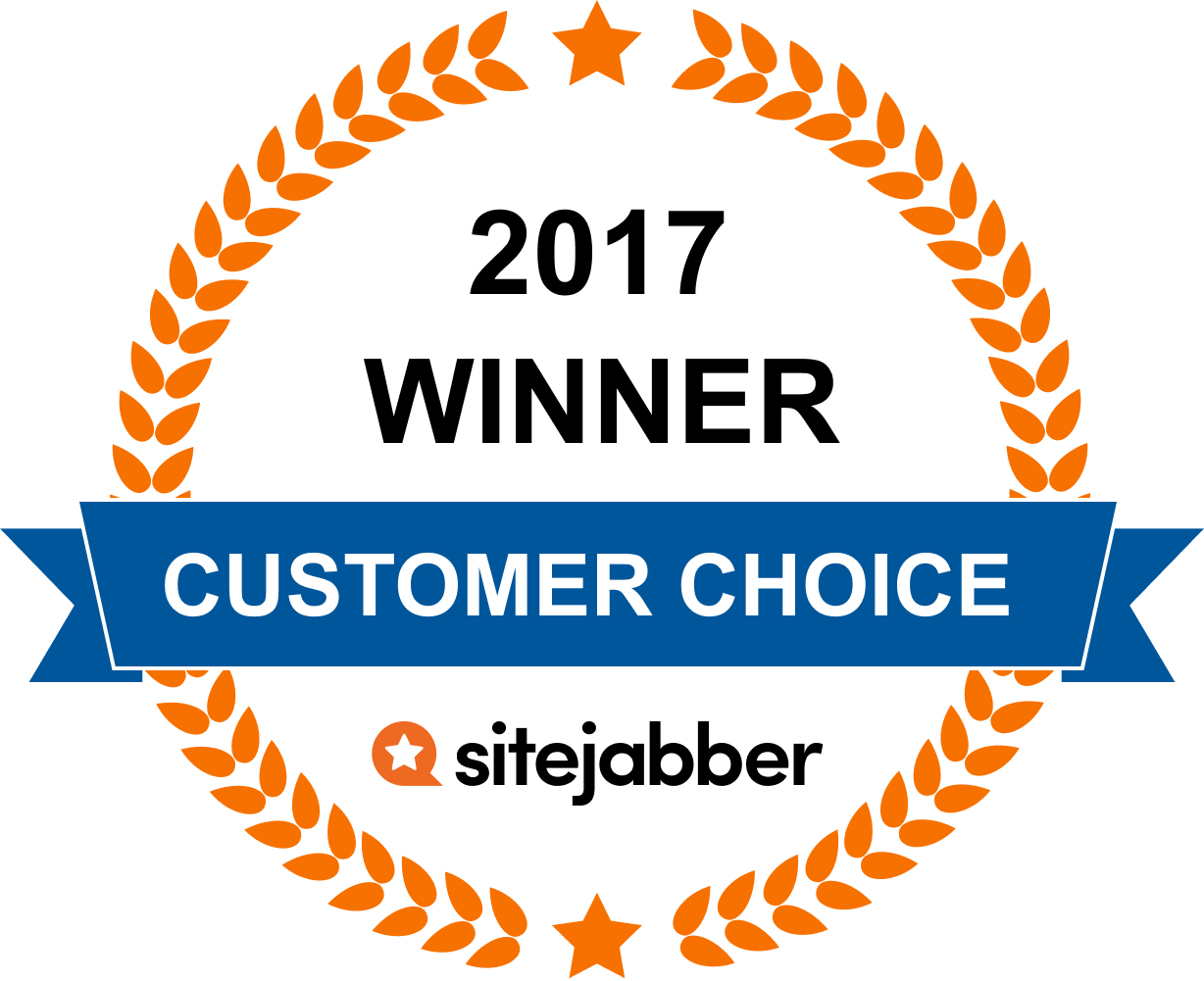 2017 Customer choice award