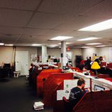 Our fast paced Sales Floor.