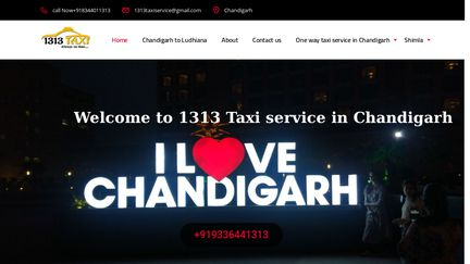 1313taxichandigarh