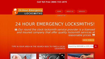 24 Hour Emergency Locksmiths