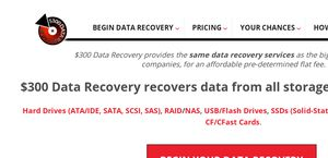 $300 Data Recovery