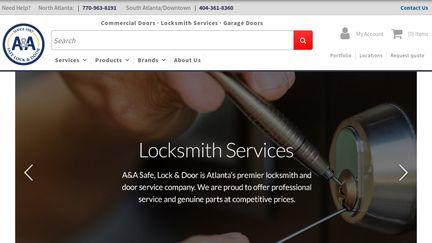A & A Safe, Lock & Door Company