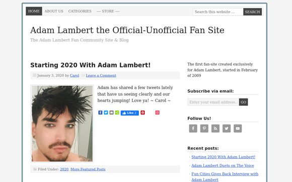Adam-lambert.org