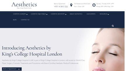 Aesthetics.kingscollegehospitaldubai.com