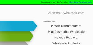Allcosmeticwholesale.com