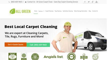All Green Carpet Clean