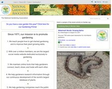 The National Gardening Association