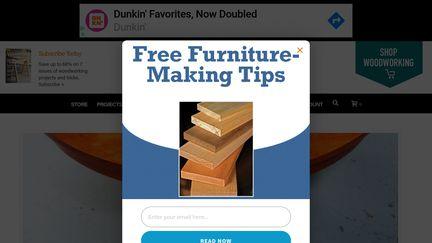 Popular Woodworking Magazine