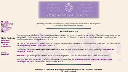 Alternative Medicine Foundation