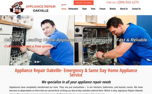 ApplianceRepairOakville.ca