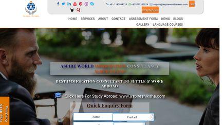 Aspire World Immigration