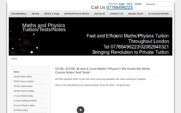 AStarMathsandPhysics