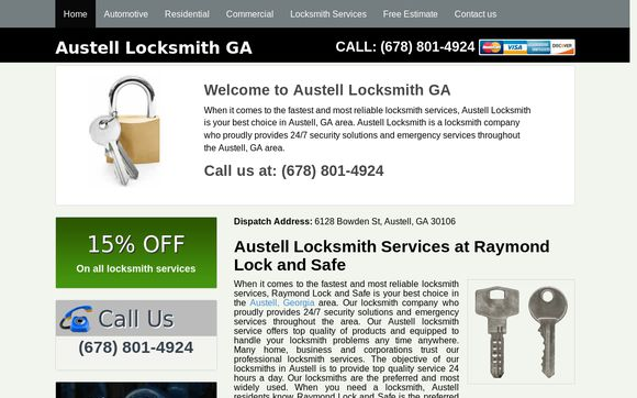 Austell Locksmith GA