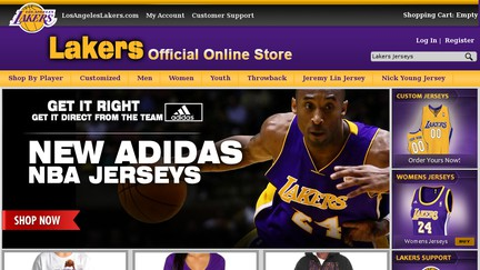 AuthenticLakersStore