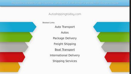 AutoShippingToday