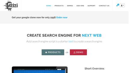 Azizi Php Search Engine