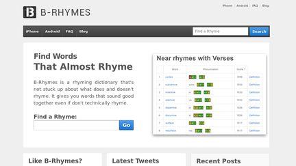 B-rhymes.com