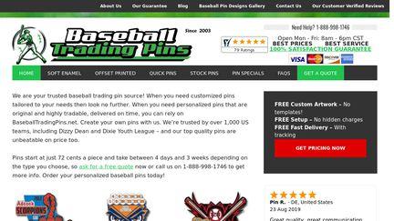 Baseballtradingpins.net