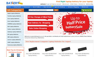 Batteryprice.co.uk