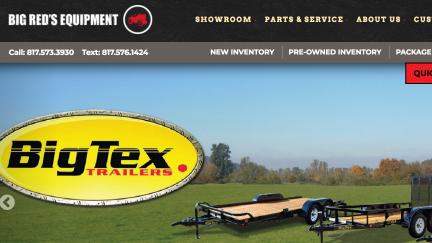Big Red's Equipment Sales