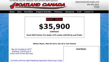 BoatlandCanada.ca