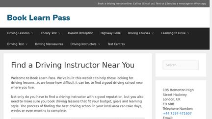 Book Learn Pass