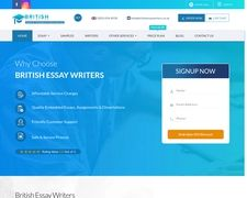 British Essay Writers