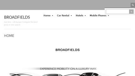 Broadfieldscarhire.co.uk