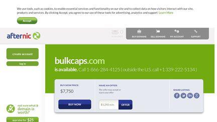 Bulkcaps