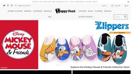 Happy Feet House Slippers