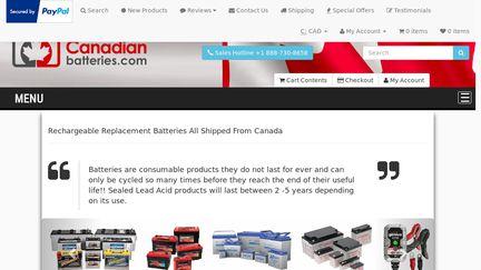 Canadianbatteries.com