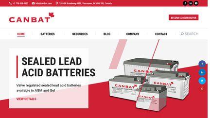 Canbat Batteries