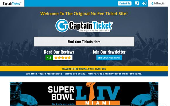CaptainTicket