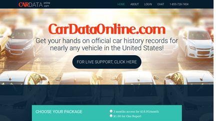 Car Data Online