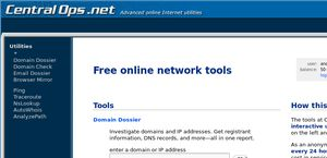 Free online network tools