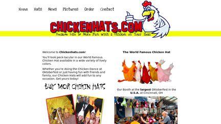 ChickenHats.com