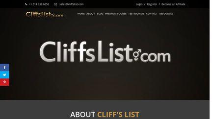 CliffsList