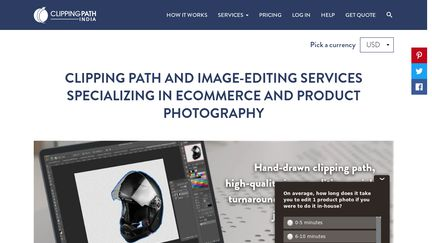 Clipping Path India