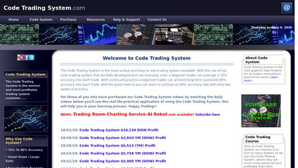 Code Trading System