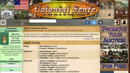 Colonialsense.com