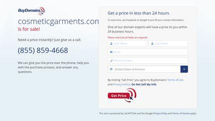 Cosmeticgarments.com