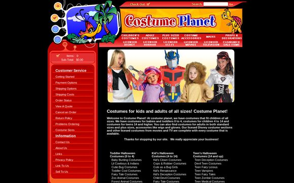 Costume Planet!