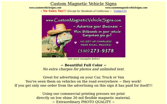 CustomMagneticVehicleDesigns