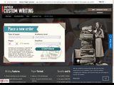 CustomWritingService