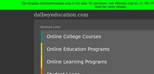 Dalbey Education