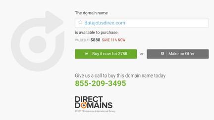 Datajobsdirex.com