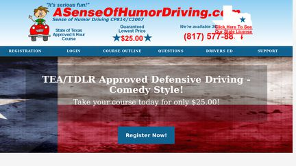 Online Defensive Driving