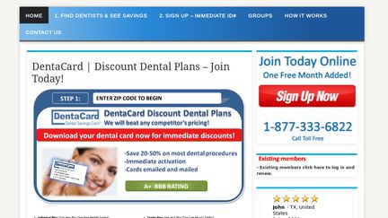 DentaCard Discount Dental Plans
