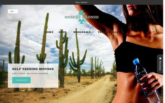 Desert Bronze Self Tanning