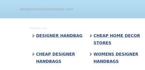 Designer Styles Boutique Reviews 3 Reviews Of
